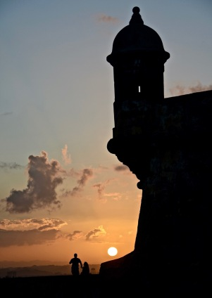 """Fortress Sunset"" - Puerto Rico"