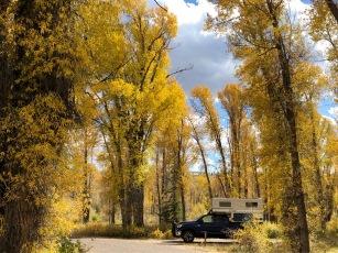 Gros Ventre campsite, Grand Teton NP