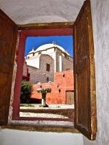 """Monastery Window"" - Peru"