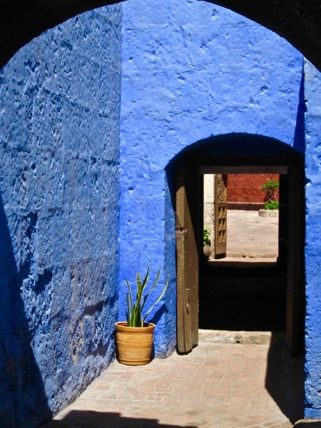 """Blue Alley"" - Peru"