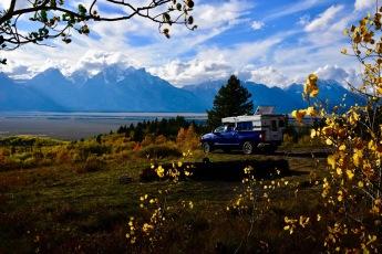 Shadow Mtn. campsite, Grand Teton NP